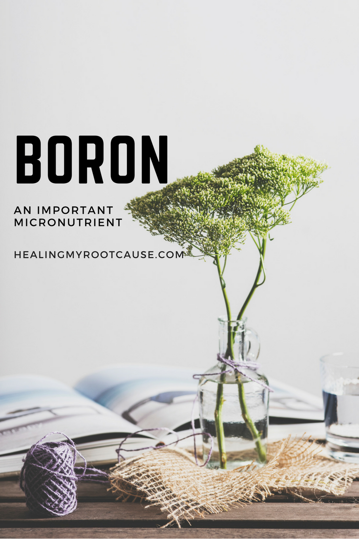 Boron-A Mineral that can do so much for chronic illness - Healing My